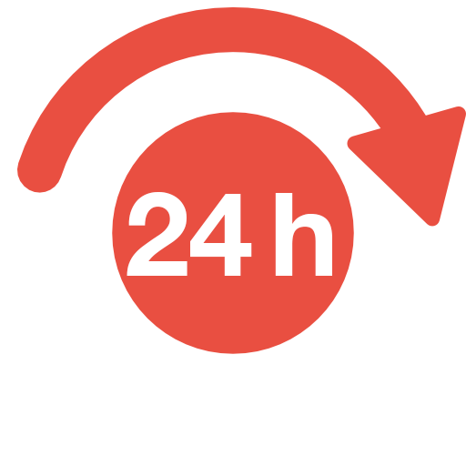 24h express delivery