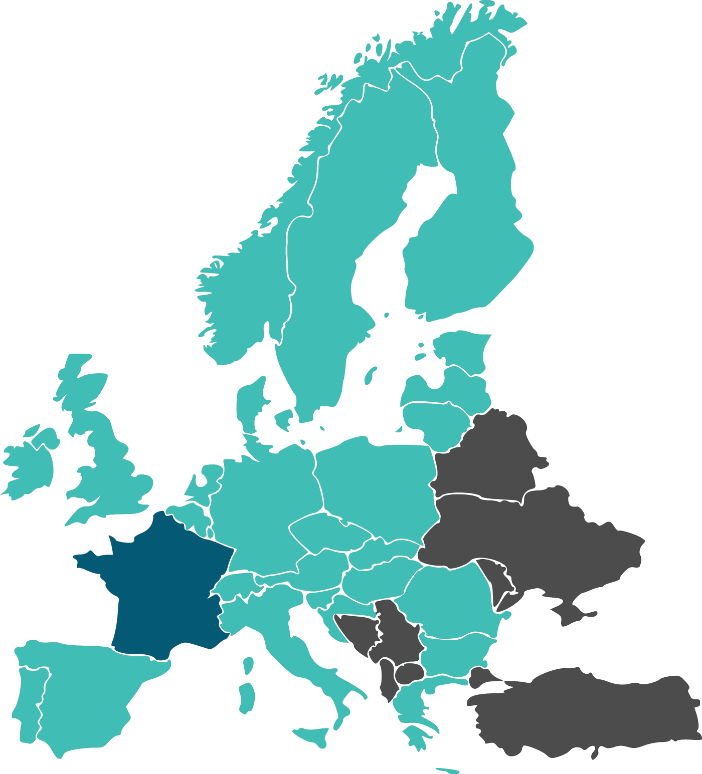 Europe 4G coverage