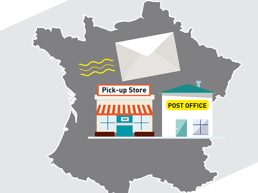 delivery at pickup location